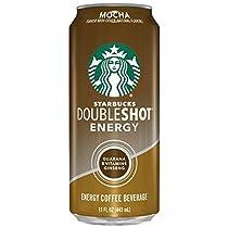 Starbucks Doubleshot Energy Coffee, Mocha, 15 Ounce Cans, 12 Count