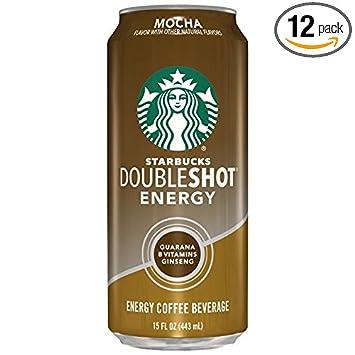 Starbucks Doubleshot Energy Coffee Mocha 15 Ounce Cans 12 Count