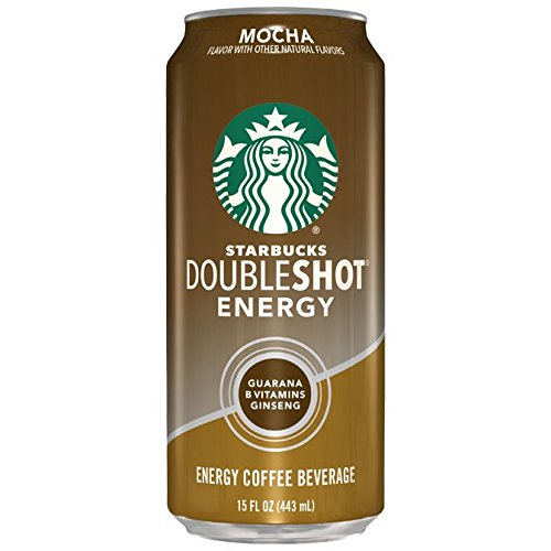 Starbucks Doubleshot Energy Coffee, Mocha, 15 Ounce Cans, 12 Count