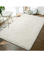 Andecor Soft Fluffy Bedroom Rugs Indoor Shaggy Plush Area Rug for Boys Girls Kids Baby College Dorm Living Room Home Decor Floor Carpet