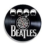 Beatles Vinyl Record Wall Clock. Decor for your living room. Gift for girls, boys, man, women,kids, children. Leave a feedback for us