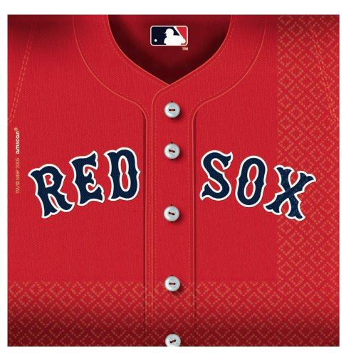 (Boston Red Sox Party Napkins - 36)