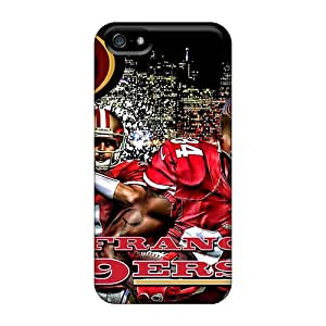 Best Cell-phone Hard Covers For Iphone 5/5s With Customized Attractive San Francisco 49ers Image InesWeldon