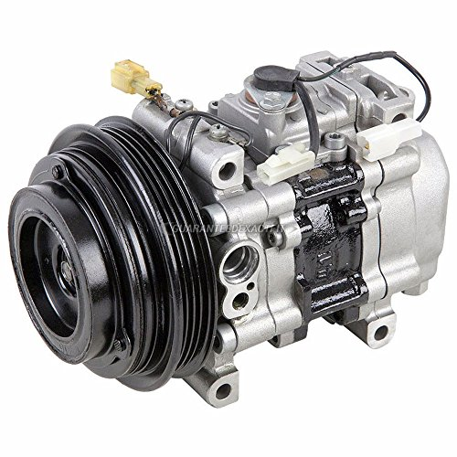 Reman AC Compressor & A/C Clutch For Mazda Miata 1990 1991 1992 1993 - BuyAutoParts 60-00785RC Remanufactured