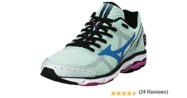 Mizuno Wave Rider 17 Womens Zapatillas para Correr - 42: Amazon.es: Zapatos y complementos