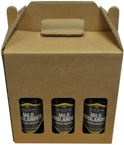6 Caja Para Botellas de cerveza Ale Carrier Soporte Fathers Day ...