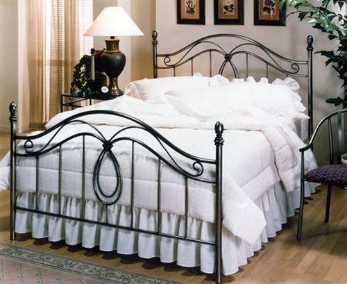 Milano Full Metal Bed Set - Hillsdale 167-46 Metal Bed