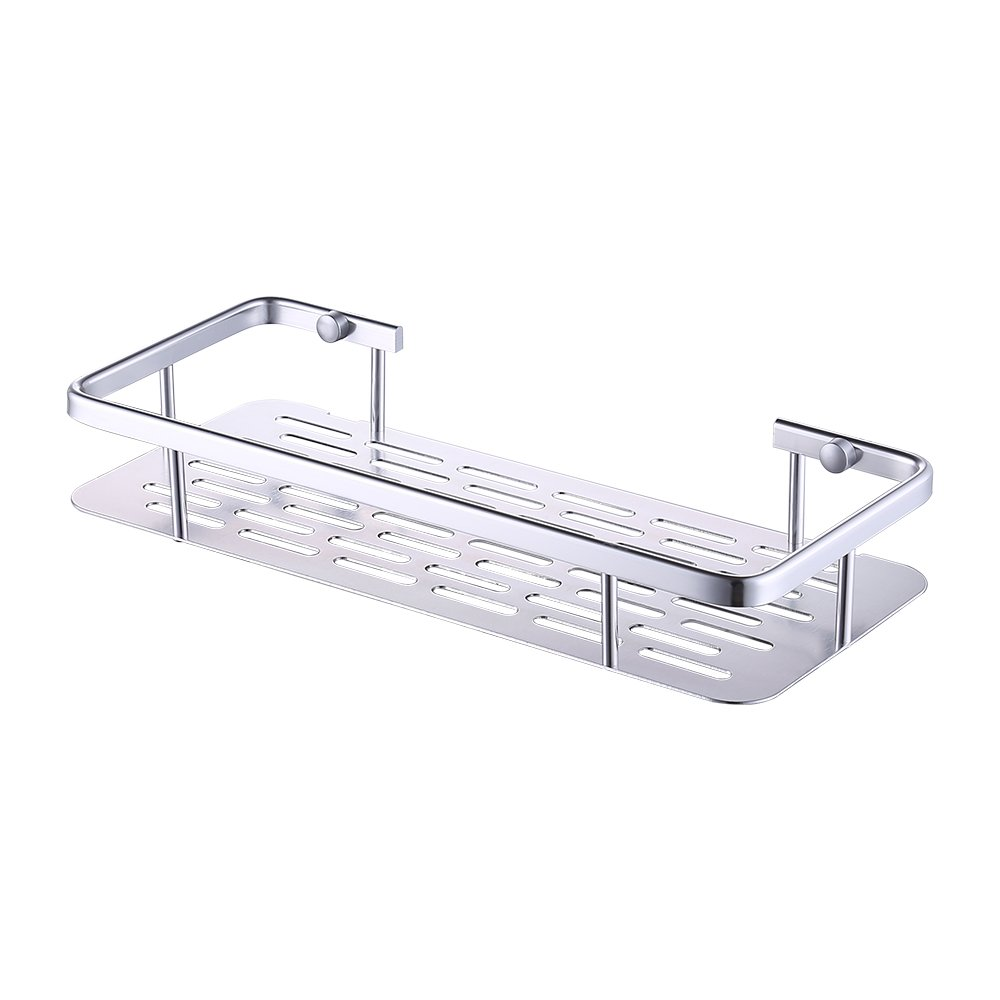 KES Bathroom Shelf, Shower Shelf Basket 12 Inch Aluminum - Shower Organizer Wall Mounted, A4028A