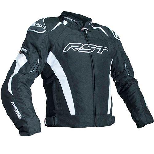 Motorcycle Rst - RST 2060 TracTech Evo III Textile Waterproof Motorcycle Jacket - Black/White 46