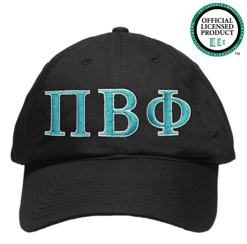 Pi Beta Phi (Pi Phi) Embroidered Nike Golf Hat, Various Colors