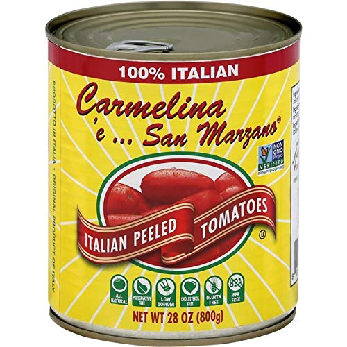 Mangia Carmelina San Marzano Włochy Pomidory całe obrane w puree