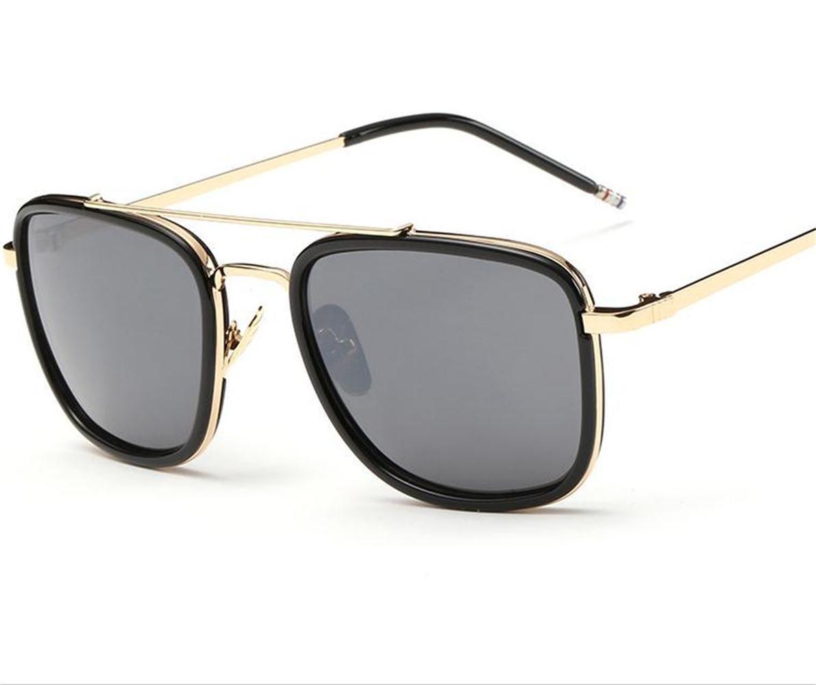 Carré de grosse lunette de soleil lunettes de soleil unisexe , b   Amazon.fr  Sports et Loisirs 662058b691a5