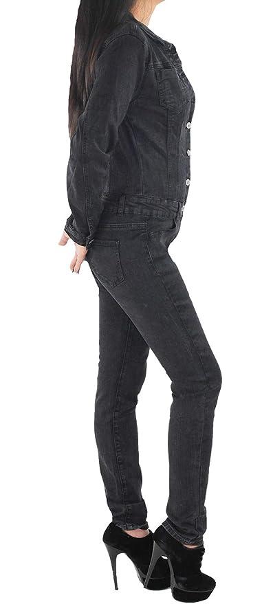120 Damenjeans Jeans Hüfthose Hüftjeans Röhre Grau