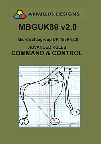 Micro-Battlegroup UK 1989 MBGUK89 Advanced Rules Command and Control: MBGUK89 Supplement 1 (Supplement 1989)
