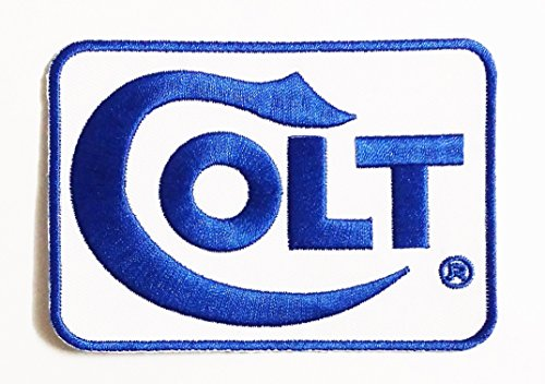 COLT Iron Sew On Cotton Patch 9.8 x 6.8 cm.Firearms Shotguns Revolver Magnum iron on patch