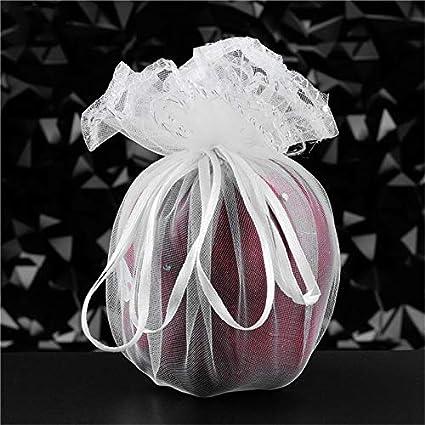 285e4cdbf5ee Amazon.com: XLPD 50Pcs Organza Bag Candy Bags Favor Wedding Bag ...