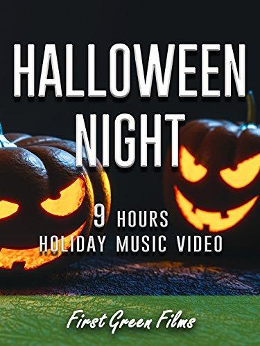 Halloween night, 9 hours holiday music (Screensaver Halloween)
