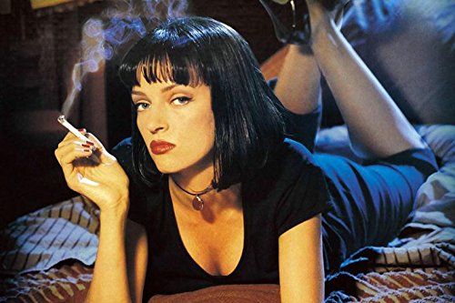 Fit You Pulp Fiction Deathly Ron Emma Platform Canvas Wall Movie Posters Modern Home Decor Hd Large Printings Decoration For Wall 04
