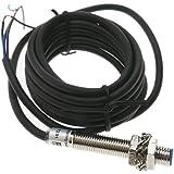 BeMatik - Induktive Näherungsschalter Sensor 6-36 VDC PNP NO M8 Sn:1mm