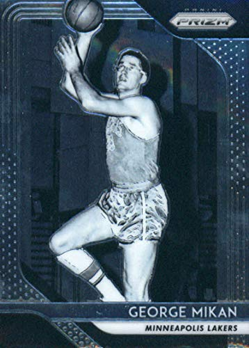 2018-19 Prizm Basketball #285 George Mikan Minneapolis Lakers Official NBA Trading Card From Panini ()