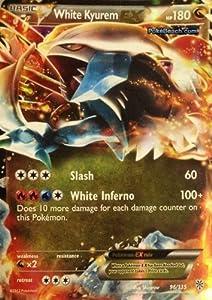 White kyurem ex plasma storm 96 135 pokemon - Kyurem blanc ex full art ...