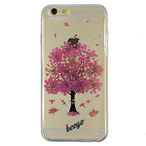 beeyo gsm016874Apple iPhone 6/6S Blossom Housse de protection violet