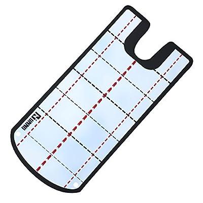 IINNII Golf Alignment Mirror Golf Training Mirror Golf Shoulder Mirror- Practice Your Putting Alignment Tool- EyeLine Golf Putting Mirror