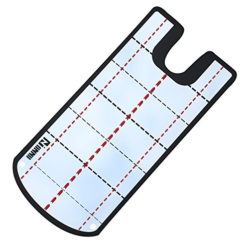 IINNII Golf Alignment Mirror Golf Training Mirror Golf Shoulder Mirror- Practice Your Putting Alignment Tool - EyeLine Golf Putting Mirror (Mirror Golf Training)