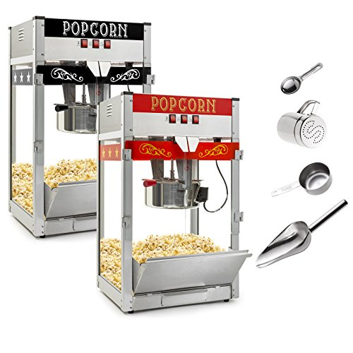 Olde Midway Commercial Popcorn Machine Maker Popper with Large 12-Ounce Kettle - -