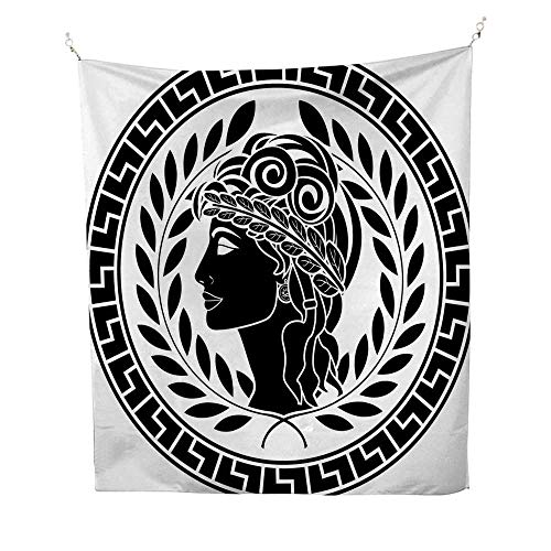 - Toga Partyocean tapestryRoman Elegance Beauty Muse Portrait Patrician Woman Old Fashion Aesthetic Icon 54W x 72L inch Large tapestryBlack White