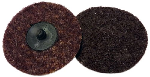 Griton QS3305 3'' Surface Conditioning Disc, Industrial Grade Type 3, Medium, Maroon (Pack of 25)