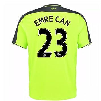 New Balance para hombre del Liverpool FC Tercera Manga Corta Camiseta De Fútbol, hombre,