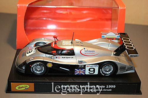 calidad auténtica Slot  Slot SCX Scalextric Scalextric Scalextric SICA01E Audi R8C 1999 Le Mans Race N. 9  en linea
