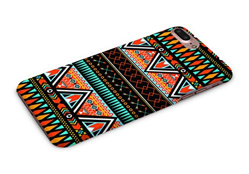 Cover Affair Aztec Printed Designer Slim Light Weight Back Cover Case for Apple iPhone 7 Plus - 2016/Apple iPhone 8 Plus - 2017 (Red & White & Blue & Black & Other)