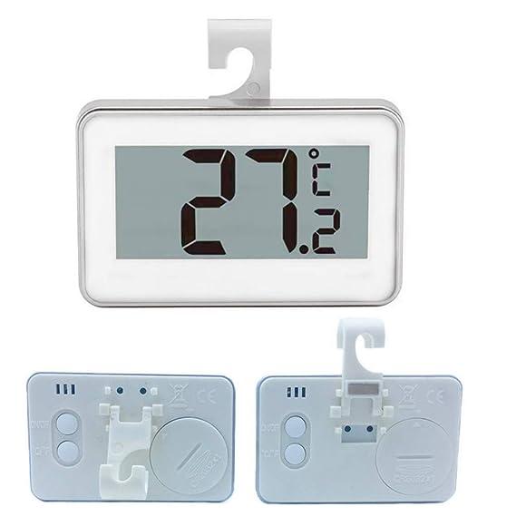 Mariisay Refrigerador Digital Termómetro Colgante Congelador A ...