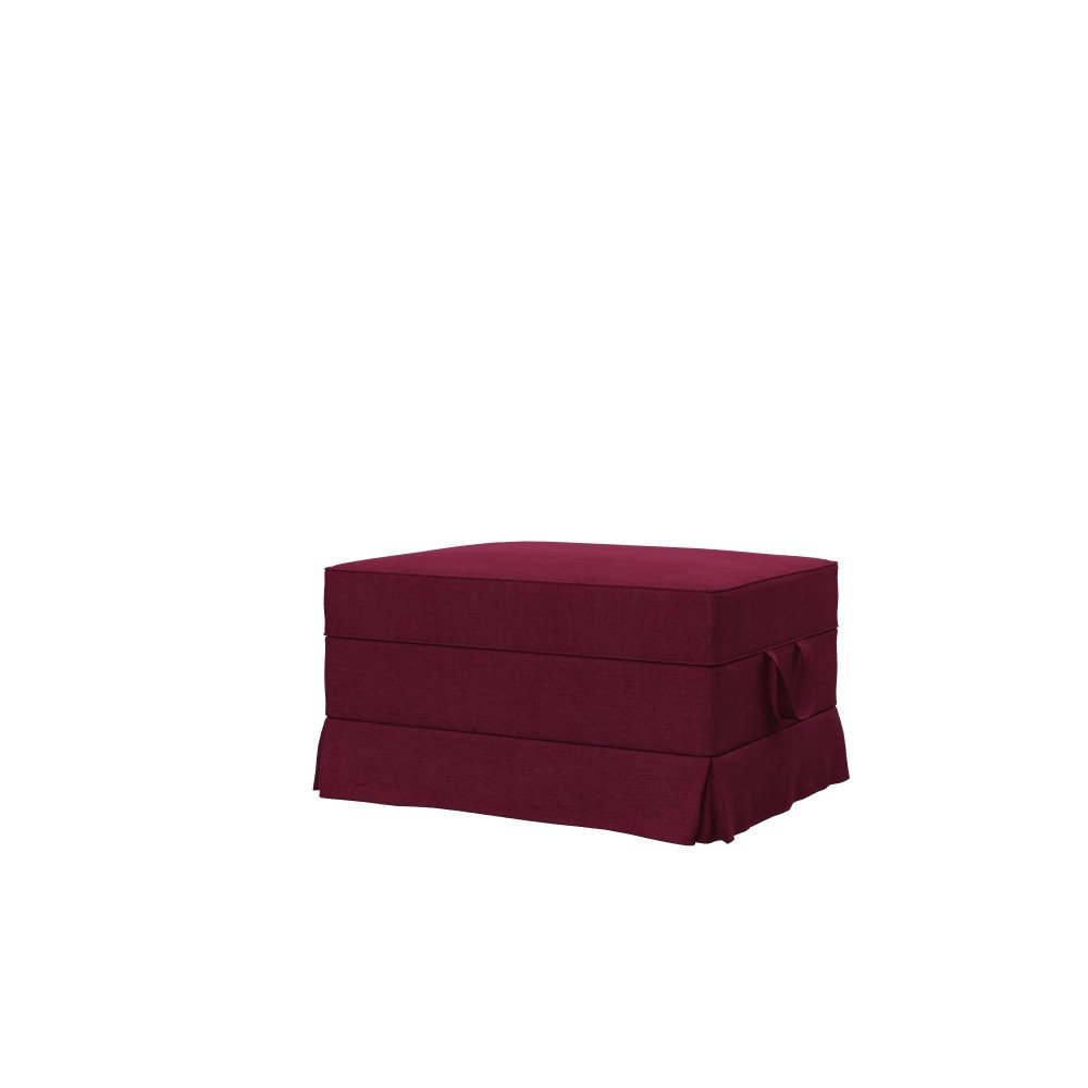 Soferia - IKEA EKTORP housse repose-pieds - Elegance Burgund