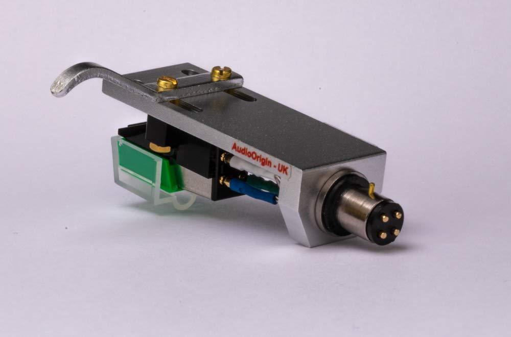 Headshell Cartridge Mount, Eliptical Stylus, Needle for Sansui SR1050, SR2020, SR2050, SR232, SR3030, SR313, SR4040, SR4050, SRB200, - MADE IN ENGLAND