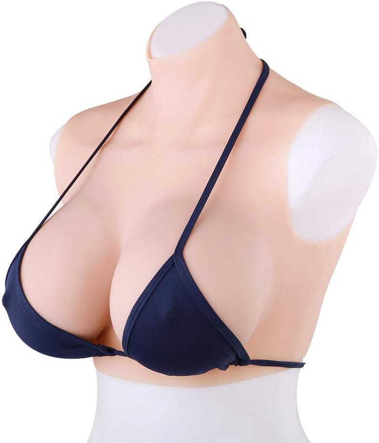 False Boobs Enhancer Silicone CrossDresser Bra Breast Forms Fake Breast Costume