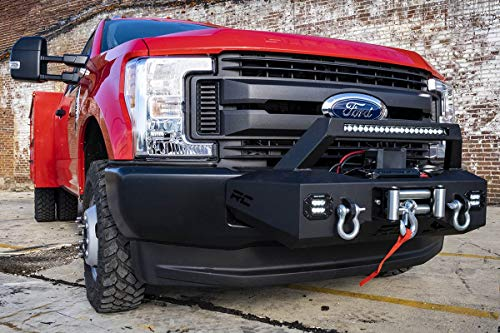 Rough Country EXO Winch Mount System (fits) 2017-2019 Ford Super Duty F250 F350 51004 Winch Mount System F-250