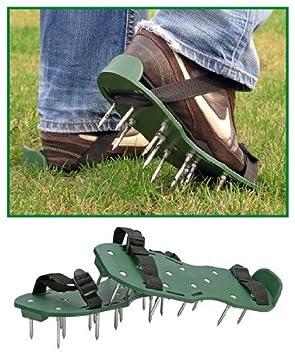Außergewöhnlich MQ Rasenlüfter Schuhe Vertikutierer Nagelschuhe Rasenbelüfter #UV_74