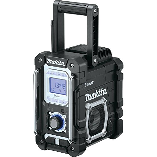 Makita XRM04B 18V LXT Lithium-Ion Cordless Bluetooth Job Site Radio, Tool (18 Volt Radio)
