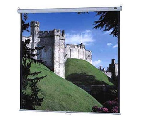 Da-Lite 85308 | Durable Manual Wall and Ceiling Projection Screen : Model B with controlled Screen Return 96