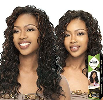 Amazon freetress equal double weave ripple deep 4pcs 2 freetress equal double weave ripple deep 4pcs 2 dark brown pmusecretfo Image collections
