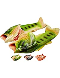 Fish Slippers Summer Beach Women Shoes Men Soft Creative Shower Non-Slip Funny Animal Sandals Casual