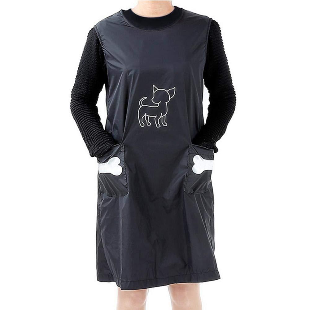 Impermeabile e Antiaderente Adatto alla Balneazione. Facile da Respirare Grembiule Impermeabile per Capelli Funihut Abbigliamento da Bagno per Animali
