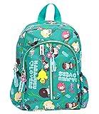 Cartoon Mermaid Kid Backpack Toddler School Bookbag for Boys and Girls