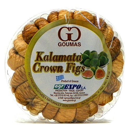 Kalamata Crown Figs, Dried (Goumas) Net Wt. 14 oz ()