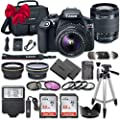 Canon EOS Rebel T6 DSLR Camera Bundle Canon EF-S 18-55mm f/3.5-5.6 is II Lens + 2pc SanDisk 32GB Memory Cards + Accessory Kit