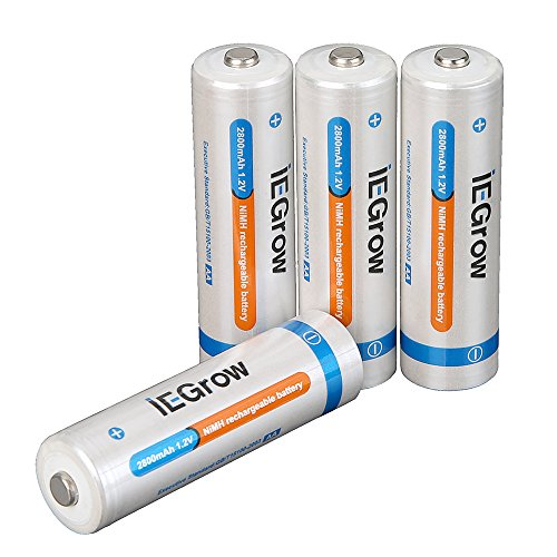 AA Rechargeable Batteries 2800mAh High Capacity