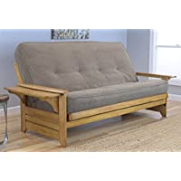 Phoenix Futon Sofa with Marmon Mocha Mattress